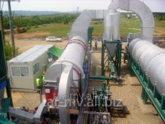 Thermal desorption plant - capacity 30 T / H, type