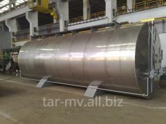 Bitumen tank with removable coil - type TBSD