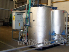Bitumen plant - capacity 3500 l / h