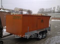 Melted snow machine - Type TZ - D
