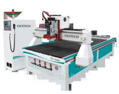 Machinery for edge -processing of wood