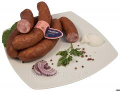 Homemade sausages - thick