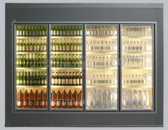 Cameră frigorifică vitrată walk-in cooler | TC 100 GD W