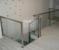 Balustrade interior inox