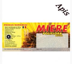 Eticheta miere Poliflora 100 buc. autocolant