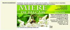 Etichete de miere de Salcam