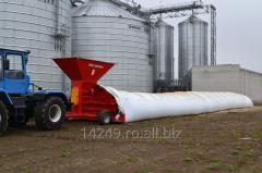 Furtunul polimeric pentru depozitarea cerealelor