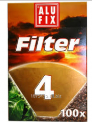 Filters for coffee machines