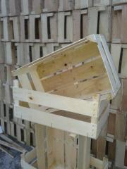 Ambalaje din lemn de plop pentru fructe si legume
