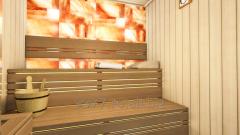 Saune cu pereți din sare