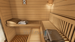 Accessories for steam cabins, saunas