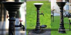 Sprayers for fountain
