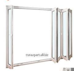 Harmonic PVC Door - folding sliding