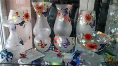 Products glass hollow household