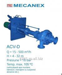 Pompe  centrifuge, verticale, monoetajate ACV-D, ACV