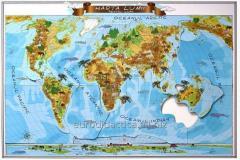 Les cartes géographique