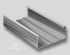 Profile metalice pentru structura gips carton tip CD