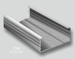 Profile metalice pentru structura gips carton tip CW