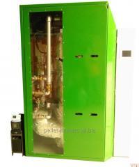 Pellet heating units