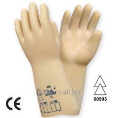 Mănuşi de protecţie electroizolante cat.III conform EN 60903