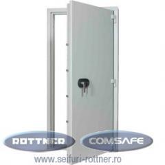 Doors for bank vaults