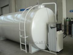 Rezervor suprateran cu perete dublu pentru benzina si/sau motorina