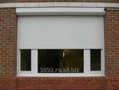 Roller jalousie for plastic windows