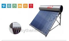 Vacuum tube solar collector with