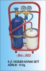 Aparat sudura oxigen-gaz, 6 litri