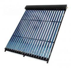 Panou (colector) solar termic cu 30 tuburi vidate, tehnologie heat pipe