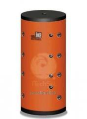 Rezervoare de acumulare apa (puffer) cu doua serpentine (seria PSR2)   /   Rezervor de acumulare apa (puffer) 300 litri cu doua serpentine (PSR2-300)