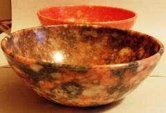 Farfurii si boluri din melamina marmorata