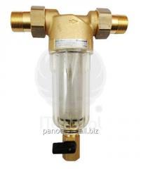 Filtru de apa cu curatare Honeywell, cu pahar transparent, olandezi si grad de filtrare 100 µ, 1