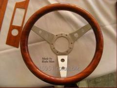Volan auto din lemn