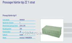 Prosoape hârtie tip ZZ 1 strat