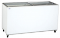 Ladă congelatoare cu capac transparent glisant | UDD 400 SCG