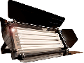 Reflector fluorescent 4 x 55W