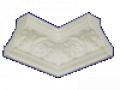 Les produits décoratif du plâtre, les plâtrages, les moulures
