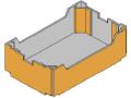 Lada carton ondulat tip Open Column