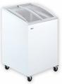 Ladă congelatoare cu capac înclinat și geamuri glisante curbate | UDD 100 SCEBG