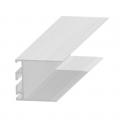 Profil îmbinare invizibilă, 30 mm, aluminiu