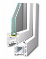PVC windows - Extra SOFTLINE 82