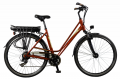 E-bike 28122 Burgundy Red