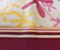 Lenjerie de pat pentru copii, 6 piese, bumbac 100%, culoare alba, cu model multicolor, 150x240 cm - LNJ-38