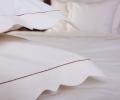 Lenjerie de pat pentru 1 persoana, bumbac 100%, model gotic, 180x220 cm - LNJ-07