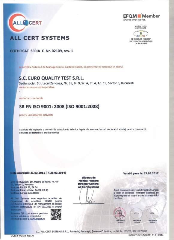 EURO QUALITY TEST SRL