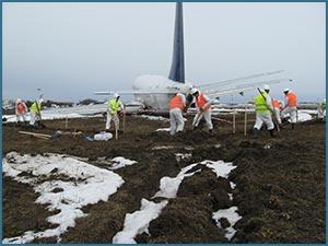 Comanda Lucrari de decontaminare / ecologizare si reconstructie ecologica a terenurilor poluate cu produse petroliere