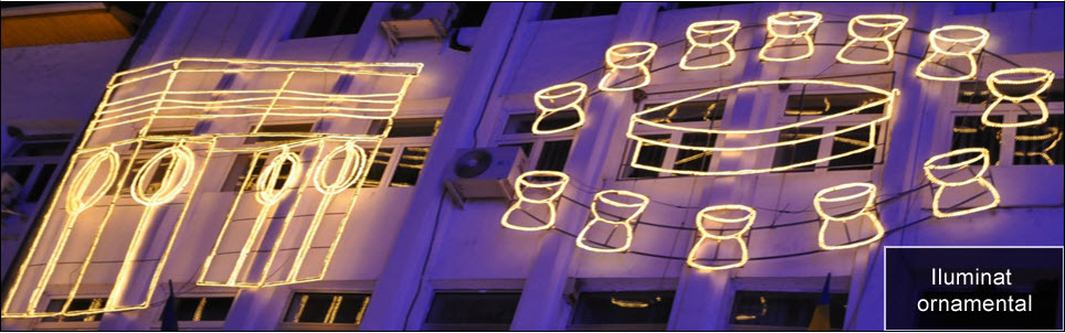 Comanda Iluminat ornamental