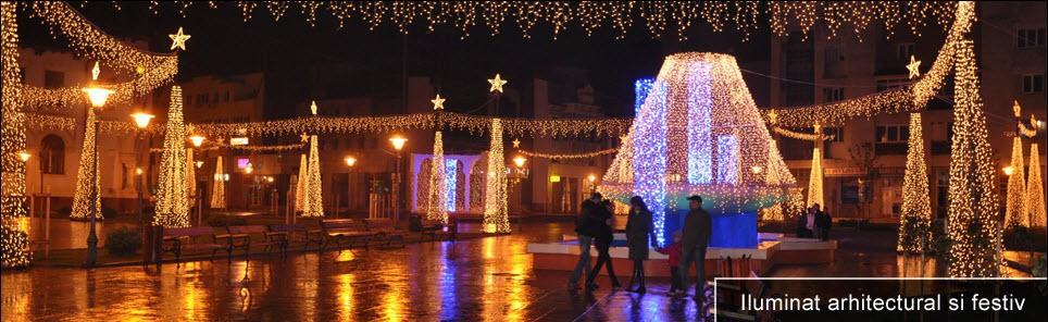 Comanda Iluminat arhitectural si festiv