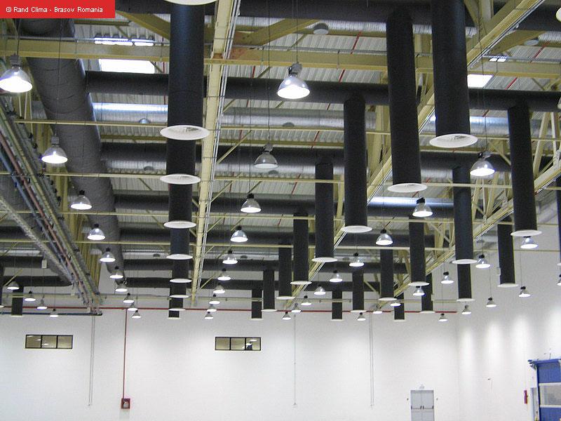 Comanda Realizarea sistemelor la cheie pentru: Instalaţii de climatizare